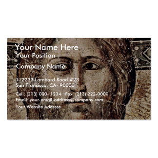 The Latest Detailed Court: Christ By Cavallini Pie Business Card Template