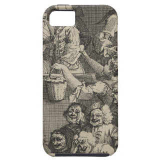 The Laughing Audience by William Hogarth iPhone 5 Case