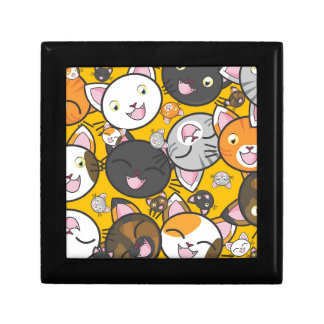 The laughing cats small square gift box