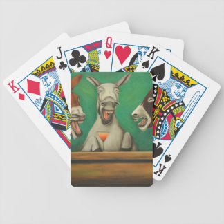 The Laughing Donkeys Bicycle Playing Cards