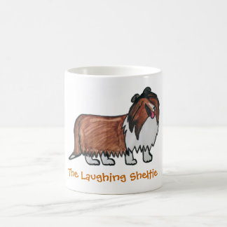 The Laughing Sable Sheltie Coffee Mug