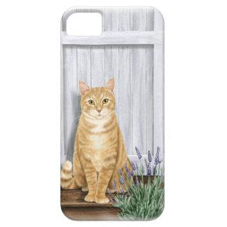 The Lavender Door Cat iPhone 5 Cases