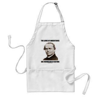 The Laws Of Inheritance Are Mendelian In Nature Standard Apron