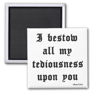 The Lawyer's Gift Square Magnet