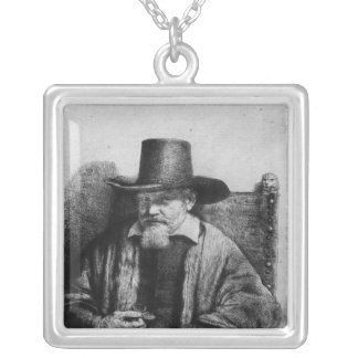 The Lawyer Tolling Silver Plated Necklace
