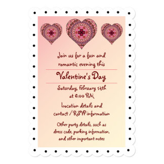 The Layers of the Heart Party Invitation