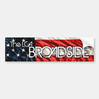 The LCA Broadside Bumper Sticker