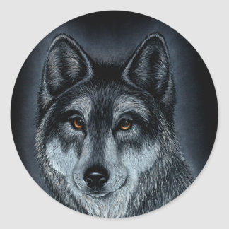 The Leader of the Pack - Wolf Sticker
