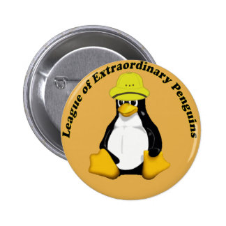 The League of Extraordinary Penguins 6 Cm Round Badge