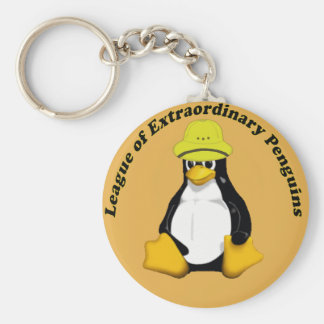 The League of Extraordinary Penguins Key Chains