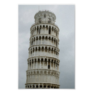 The Leaning Tower Poster
