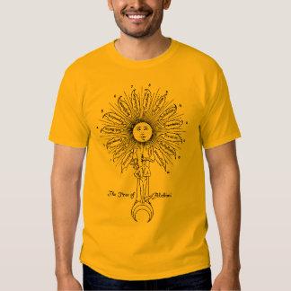The Leaves of Hermes Sacred Tree Tshirt