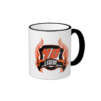 The Legend 40th Birthday Gifts Ringer Mug