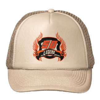 The Legend 50th Birthday Gifts Cap