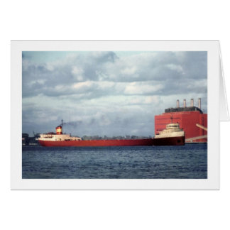 The Legendary S.S. Edmund Fitzgerald Greeting Card