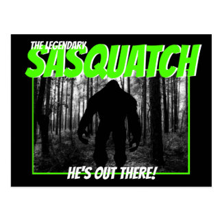 The Legendary Sasquatch Postcard