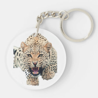 The leopard key chain