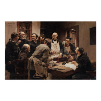 The Lesson of Claude Bernard Poster