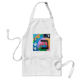 The letter Bet Aprons