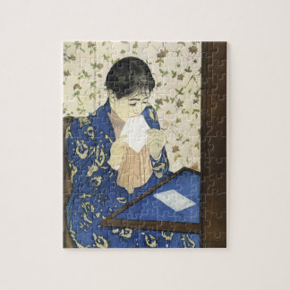 The Letter by Mary Cassatt, Vintage Impressionism Jigsaw Puzzle