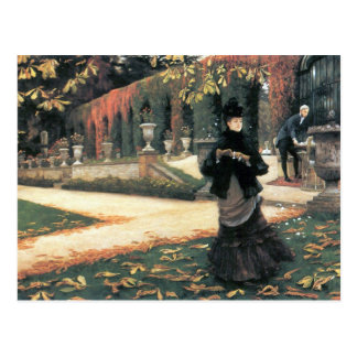 The letter came in handy by James Tissot Postcard