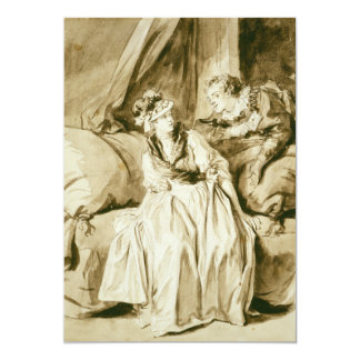 The Letter (Spanish Conversation) by Fragonard Announcements