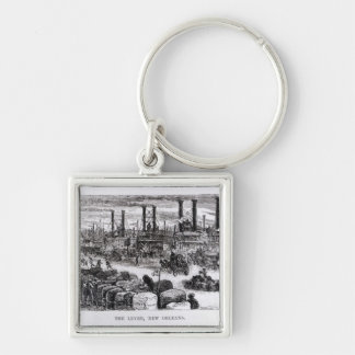 The Levee, New Orleans Key Ring