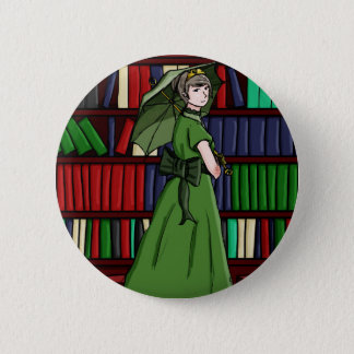 The Librarian 6 Cm Round Badge