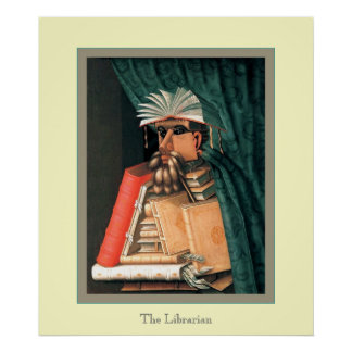 The Librarian Print