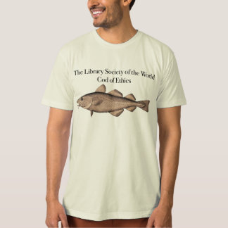 The Library Society of the World Cod of Ethics T-Shirt