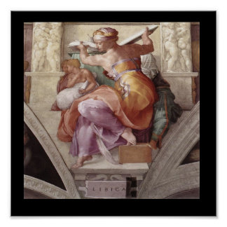 The Libyan Sibyl Poster