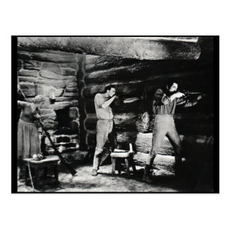 The Life and Times of Daniel Boone Postcard