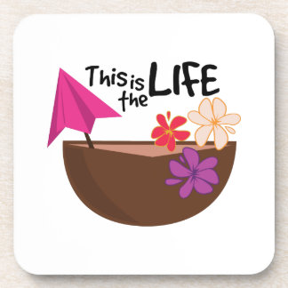 The Life Beverage Coasters