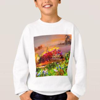The life is a cut sentence. sweatshirt