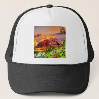 The life is a cut sentence. trucker hat