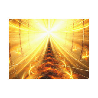 The Light at the end of the Tunnel Canvas Prints
