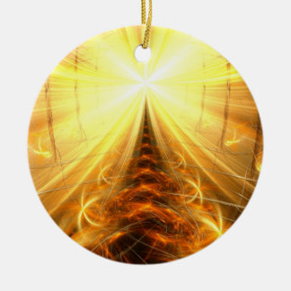 The Light at the End of the Tunnel Ceramic Ornament