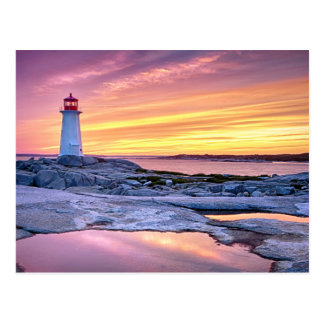 The Light Keeper | Peggy'S Cove Postcard