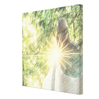 The Light Of Hope Canvas Prints