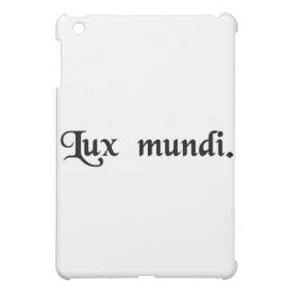 The light of the world iPad mini cases