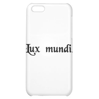The light of the world iPhone 5C cover