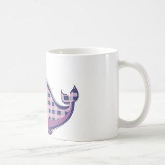 The Light Plaid Purple Coffee Mug