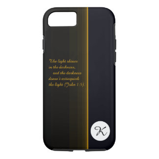 The Light Shines in the Darkness iPhone 8/7 Case