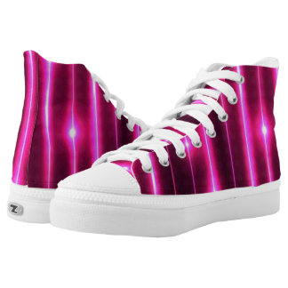 The light ups printed shoes