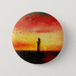 The Lighthouse 6 Cm Round Badge