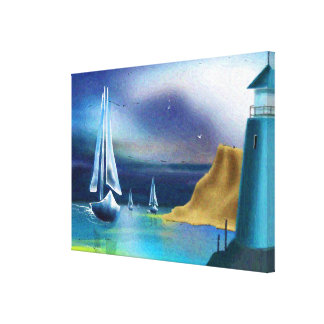 """The Lighthouse"" Art on Canvas"