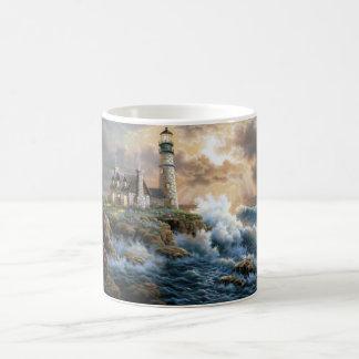 The Lighthouse Basic White Mug