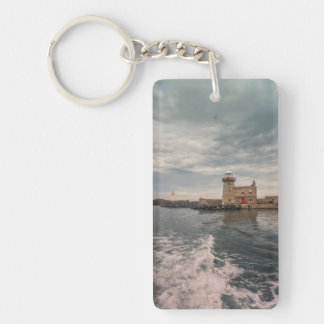The lighthouse key ring