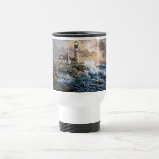The Lighthouse Stainless Steel Travel Mug