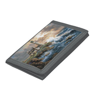 The Lighthouse Tri-fold Wallet